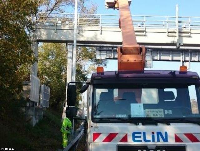ELIN Referenz-Projekt-Bild: A22 Donauufer Autobahn