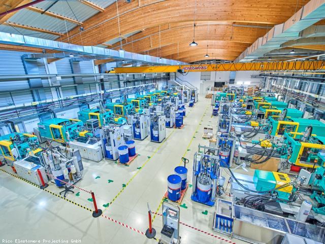 EBG Referenz-Projekt-Bild: RICO Büro- und Hallenzubau