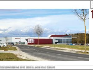 EBG Referenz Bild: Burg Design GmbH Produktionsneubau 2018