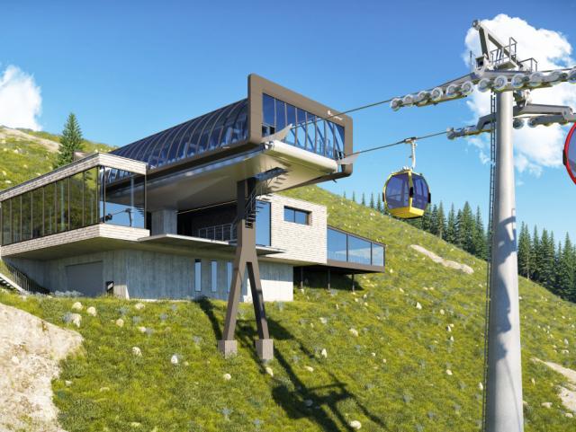 ELIN Referenz-Projekt-Bild: Zwölferhornbahn St. Gilgen