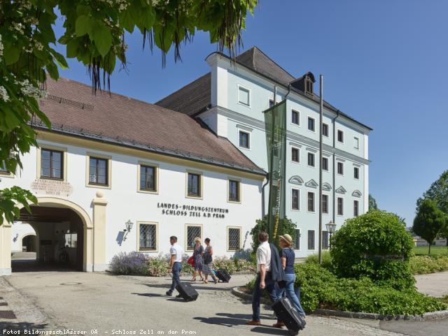 EBG Referenz-Projekt-Bild: Elektrotechnische Sanierung im Landesbildungszentrum Schloss Zell/Pram
