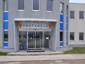 ELIN Referenz Bild: Elektroarbeiten Propangas AG