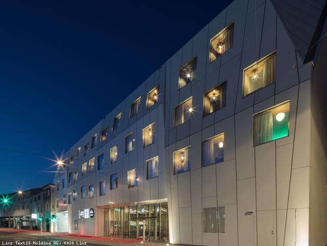 EBG Referenz-Projekt-Bild: Neubau spinnerei design‐‐hotel Linz