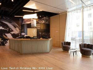 EBG Referenz Bild: Neubau spinnerei design‐‐hotel Linz