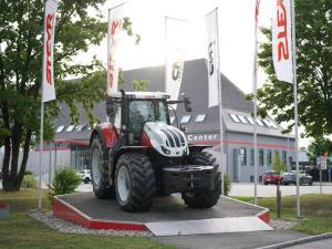 EBG Referenz Bild: STEYR Traktoren - Neuinstallationen am Werksgelände