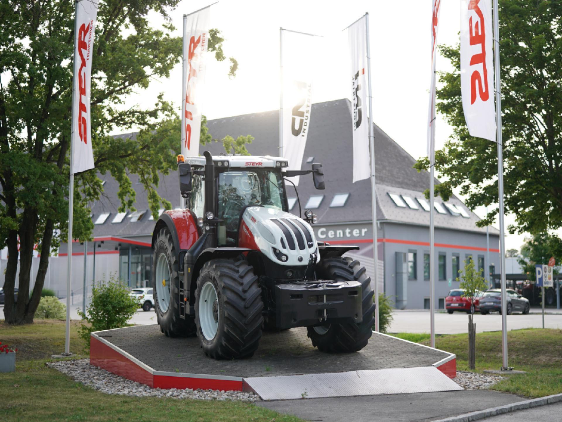 Mood-Image EBG Referenz: STEYR Traktoren - Neuinstallationen am Werksgelände