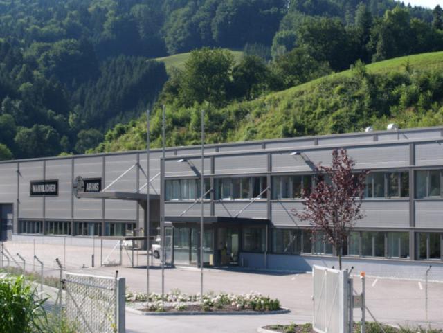 EBG Referenz-Projekt-Bild: STEYR ARMS - Neuinstallationen des Werkes