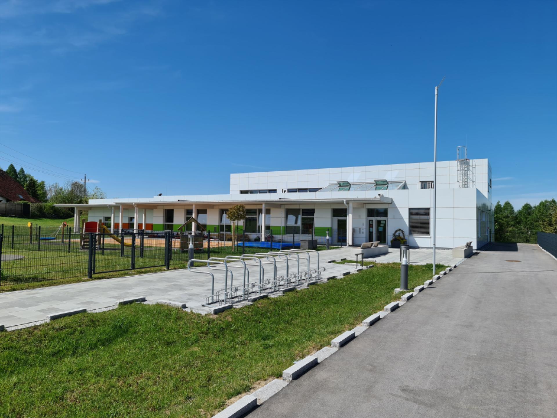 Mood-Image EBG Referenz: KIGA Lenzing Burgstall - Neubau