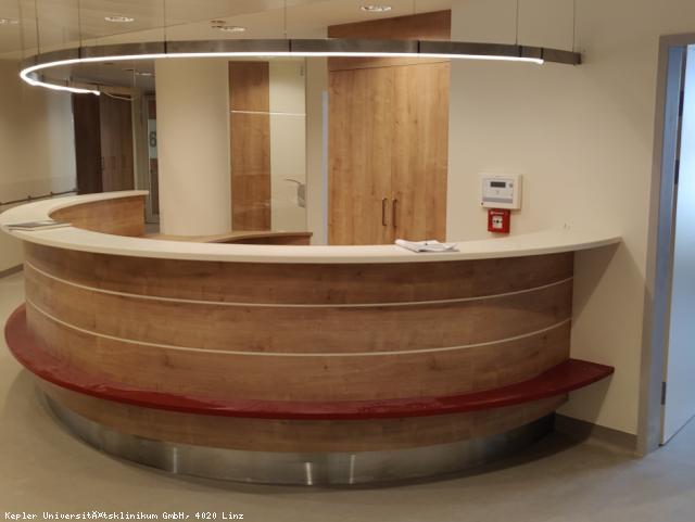 EBG Referenz-Projekt-Bild: Med Campus III, Generalsanierung Bettenstationen Bau A + B, Teil 1, Bau A