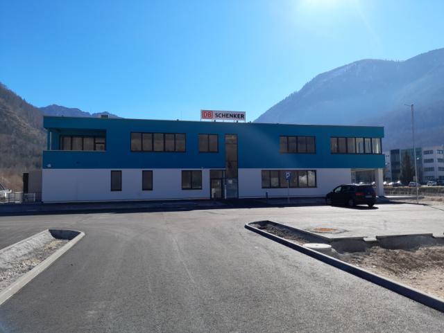 EBG Referenz-Projekt-Bild: Neubau Büro und Logistikhalle - Schenker Bad Ischl