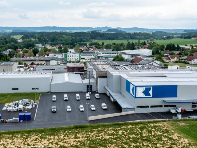 EBG Referenz-Projekt-Bild: Albert Knoblinger GmbH & Co. KG - Erweiterung Montagehalle