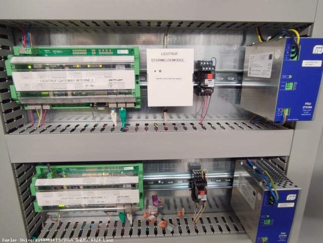 EBG Referenz-Projekt-Bild: Med Campus IV - Lichtrufanlage Altbau