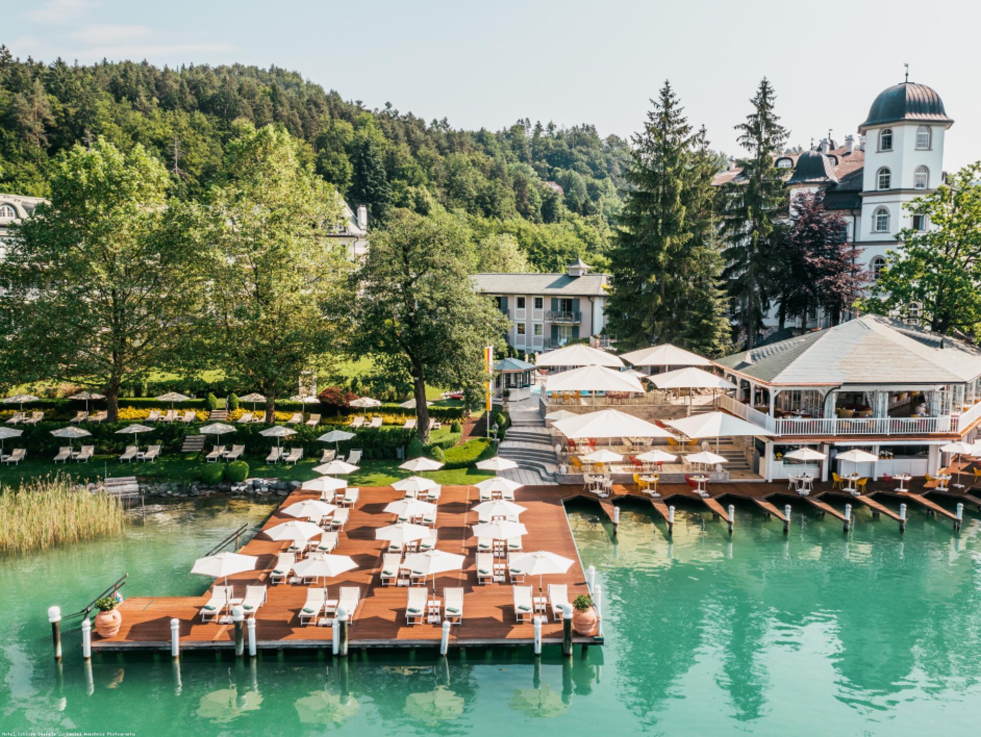 Mood-Image ELIN Referenz: Hotel Schloss Seefels, Seerestaurant Porto bello